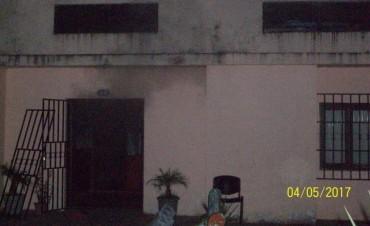 Incendio en la residencia del Copnaf de Federal