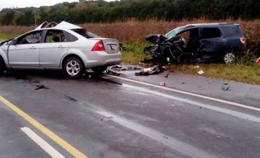 En lo que va del año, en Entre Ríos murieron 63 personas en accidentes de tránsito