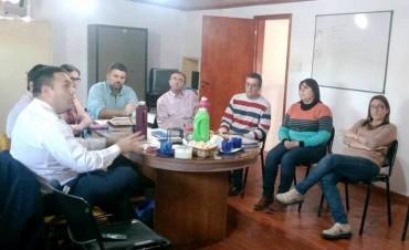 Reunión con Áreas Municipales y Funcionarios Judiciales