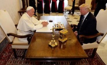El papa Francisco recibió a Donald Trump