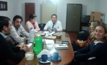 El Copnaf realizó reuniones interinstitucionales en Federal
