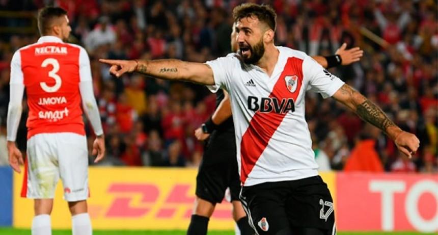 River venció a Independiente Santa Fe y se aseguró la clasificación a la próxima fase