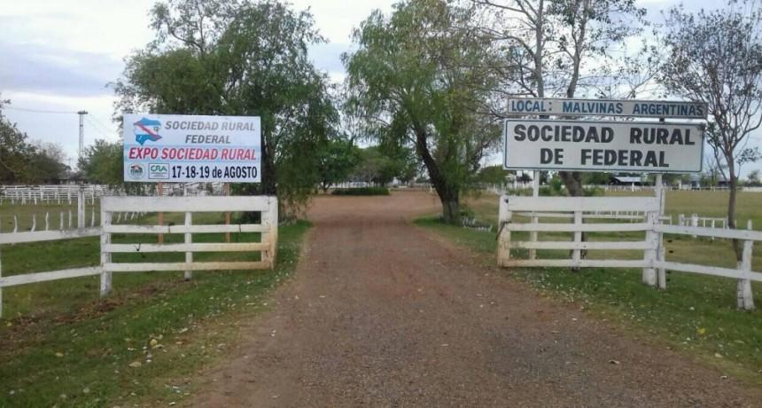 Sociedad Rural de Federal: Hasta el lunes se reciben formularios para acceder al Certificado de Emergencia Agropecuaria