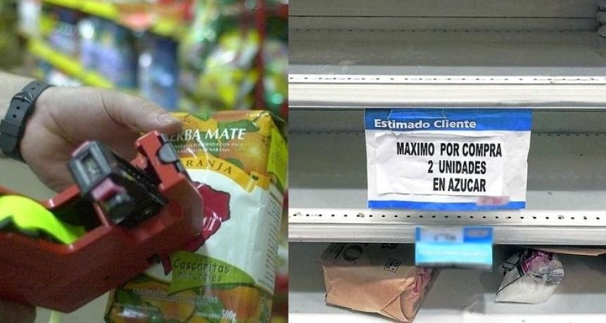 Efectos de la crisis: proveedores de supermercados demoran reposición y ajustan listas de precios