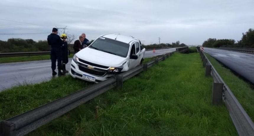 Dos camionetas colisionaron en ruta 127