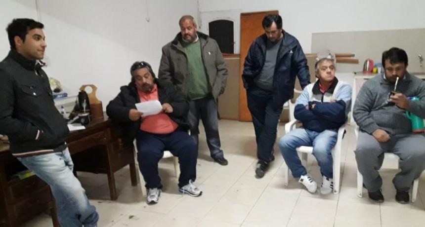 Asamblea de trabajadores enrolados en Anusate Federal