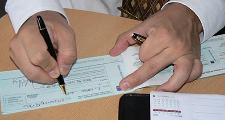 Impuesto al Cheque: cuánto paga cada uno de los contribuyentes