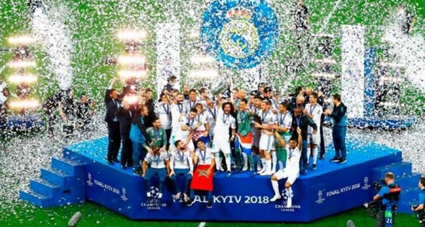 Real Madrid superó al Liverpool y volvió a consagrarse en la Champions League