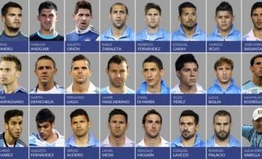 Sabella dio la lista de 23 jugadores para el Mundial: afuera Sosa, Banega y Otamendi
