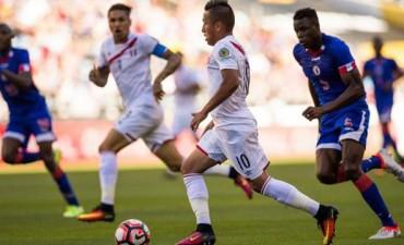 Perú le ganó con lo justo a Haití en su debut en la Copa América