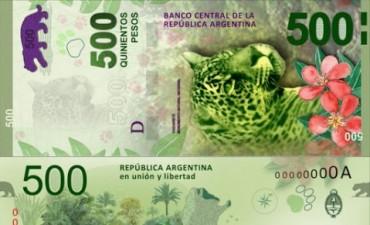 En julio comenzarán a circular los billetes de 500 pesos