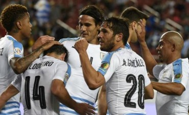 Uruguay se despidió de la Copa América Centenario con una golaeda ante Jamaica