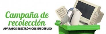 En Julio se inicia campaña de recolección de residuos eléctricos y electrónicos