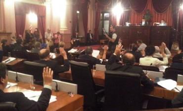 Diputados ratificó la devolución del 15 por ciento de coparticipación y aprobó financiamiento para municipios