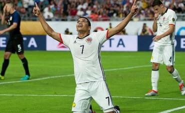 Colombia derrotó a Estados Unidos y se quedó con el tercer puesto de la Copa América Centenario