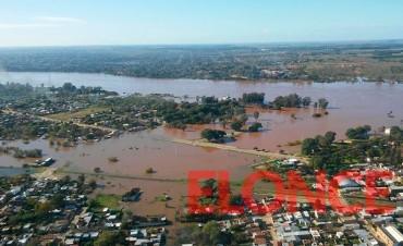 Alertan que las inundaciones podrían llegar al nivel de 2015