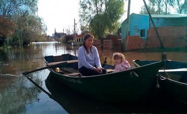 Ya son más de 2.000 las personas afectadas por las inundaciones en Entre Ríos