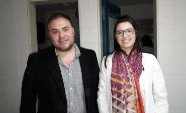 Nuevos Profesionales que se incorporaron en el Hospital Urquiza.
