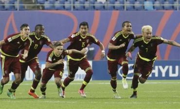 Histórico: Venezuela, finalista del Mundial Sub 20 tras vencer a Uruguay por penales y con un golazo en el descuento