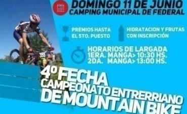 EL CAMPEONATO ENTRERRIANO DE MOUNTAIN BIKE SE DISPUTARÁ EN FEDERAL