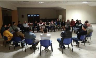 Destacan la reunión de las nuevas autoridades de la Sociedad Rural de Federal con las Instituciones del Departamento