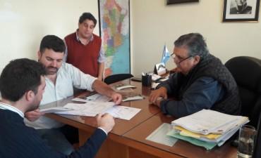 Gestiones del Intendente Chapino en Parana