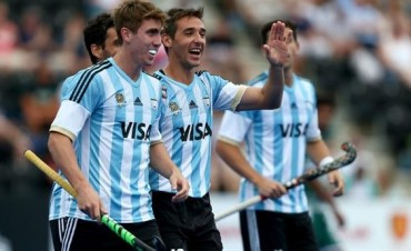 Los Leones cumplieron su objetivo del año: superaron a Paquistán y se clasificaron para el Mundial 2018