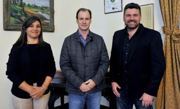 Bordet se reunió con el intendente Chapino por obras que comenzarán en Federal