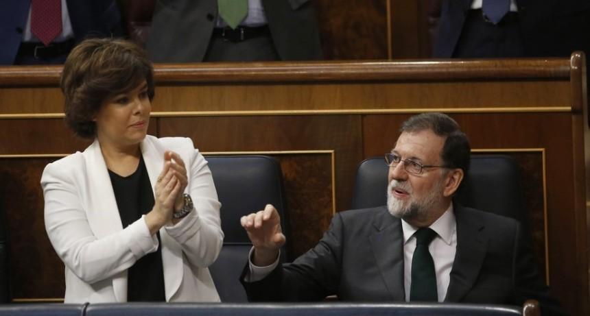 Destituyeron a Mariano Rajoy como presidente del gobierno español