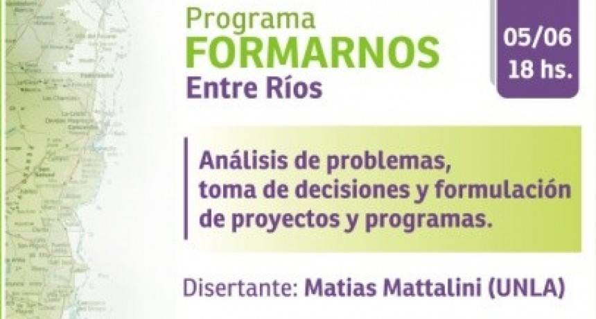 Hoy se desarrollara el 4 Encuentro del Programa