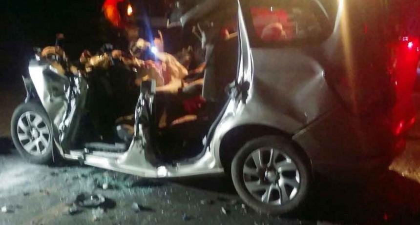 3 muertos y varios heridos en un fatal accidente cerca de Ubajay