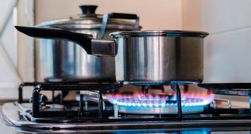 Rige la opción de pagar en tres cuotas el 25% del consumo de gas