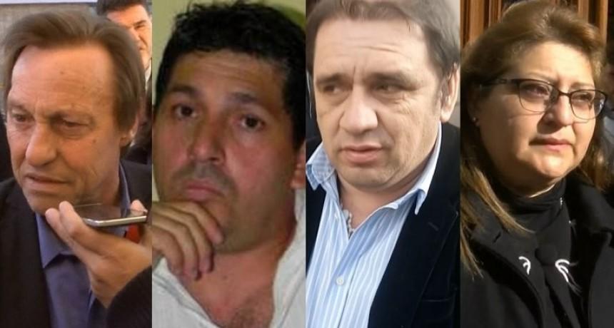 Uno por uno, los delitos que le adjudican a Varisco, Celis, Hernández y Bordeira