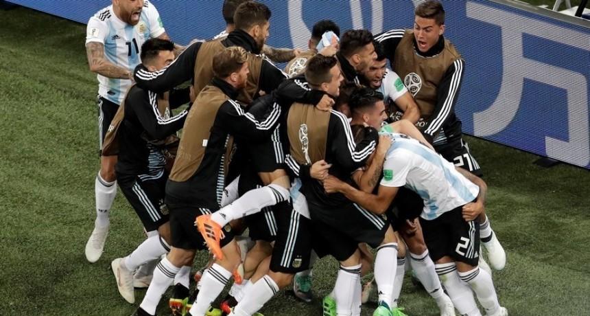 Argentina-Nigeria: la Selección tuvo el corazón necesario para evitar una eliminación cruel