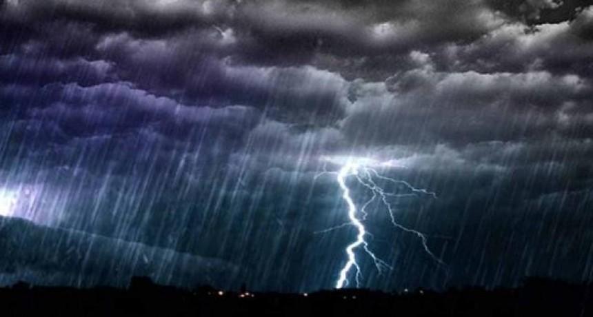 Alerta por tormentas intensas para una zona de Entre Ríos y cinco provincias