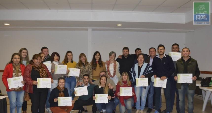 Se entregaron los Certificados del Programa