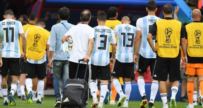 Fin del sueño: Argentina perdió con Francia y se despidió del Mundial de Rusia 2018