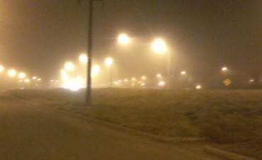 Una niebla cerrada cubre la ciudad de Federal y zona