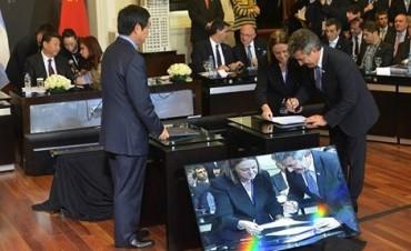 Cristina y Xi Jinping cerraron el acuerdo para construir dos acueductos en Entre Ríos