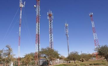 Cobertura telefónica móvil en todas las rutas del país