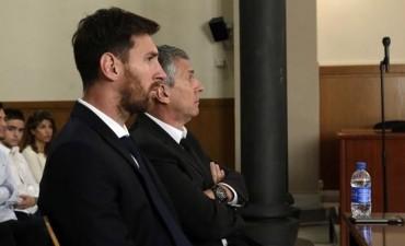 Lionel Messi fue condenado a 21 meses de cárcel por fraude fiscal