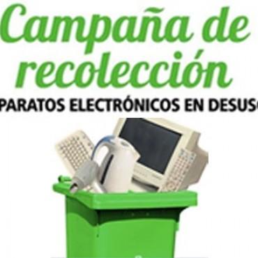 Hoy comienza la campaña de recolección de residuos eléctricos y electrónicos