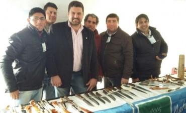 El Intendente junto a Productores locales estuvieron presentes en el Encuentro Provincial de la Economía Social