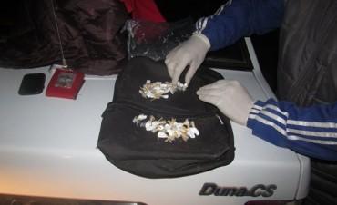 Secuestran cocaína en Federal