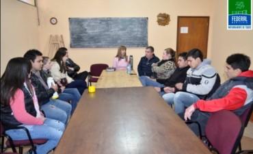 El Municipio se reunió con los Centros de Estudiantes
