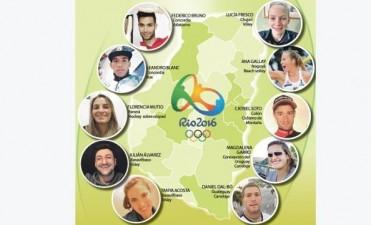 Los 10 entrerrianos en los Juegos Olimpicos