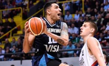 Súper 4: Argentina derrotó a Serbia con una gran actuación de Delfino