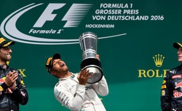 Fórmula 1: Hamilton ganó y afianzó su liderazgo en Alemania