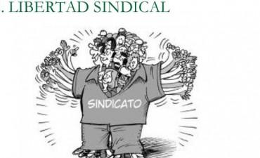 Desde el radicalismo federalense se manifiestan por la libertad sindical y democrática