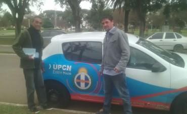 Firmaron convenio los municipales de UPCN y el Intendente Chapino